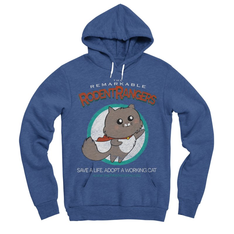 Rodent Rangers Men's Sponge Fleece Pullover Hoody by The PAW Mission