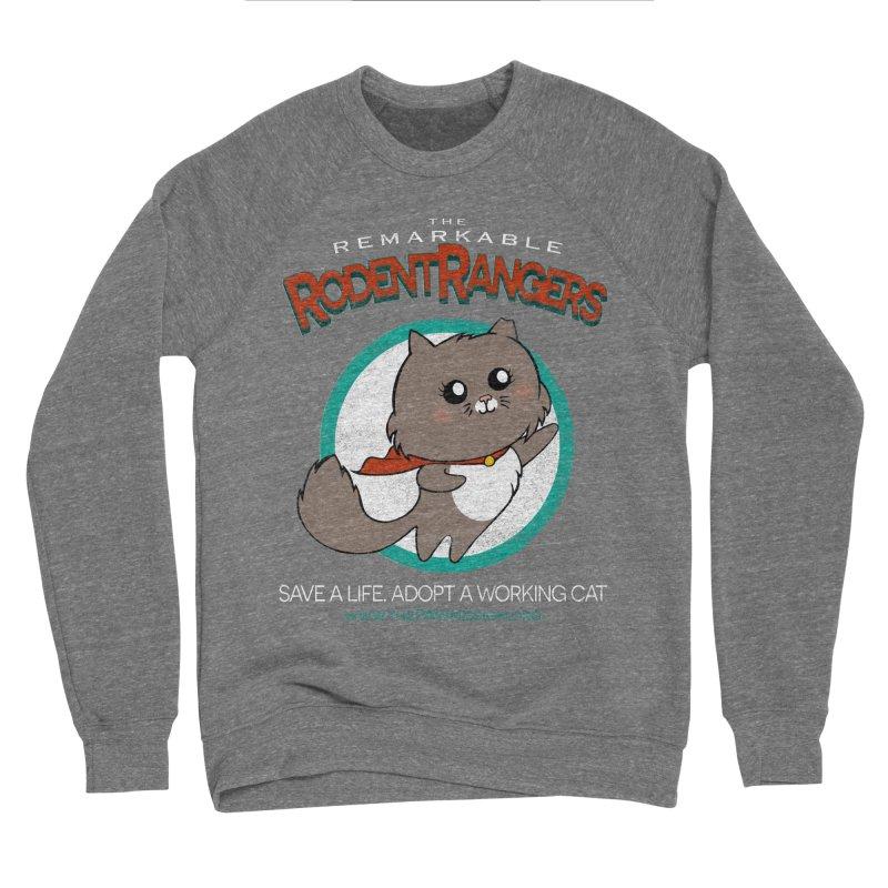 Rodent Rangers Men's Sponge Fleece Sweatshirt by The PAW Mission
