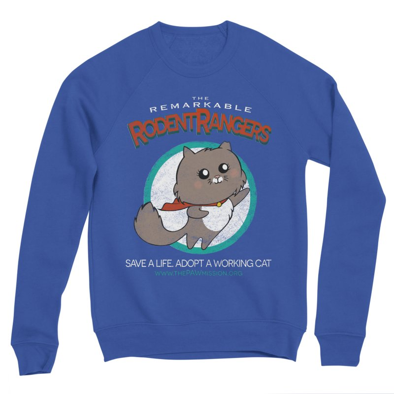 Rodent Rangers Men's Sponge Fleece Sweatshirt by The PAW Mission