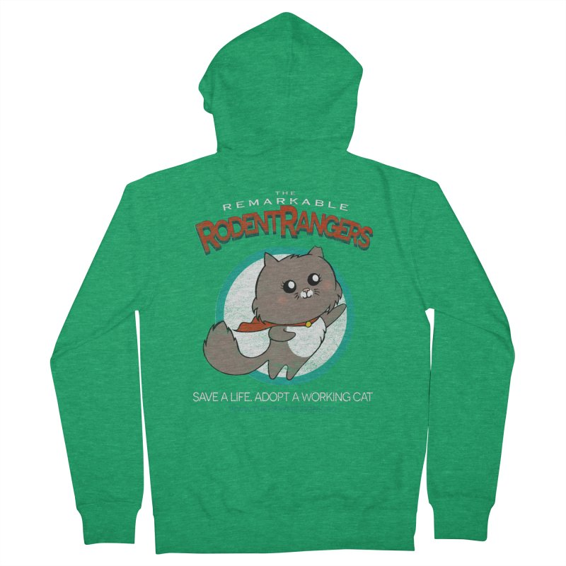 Rodent Rangers Men's Zip-Up Hoody by The PAW Mission