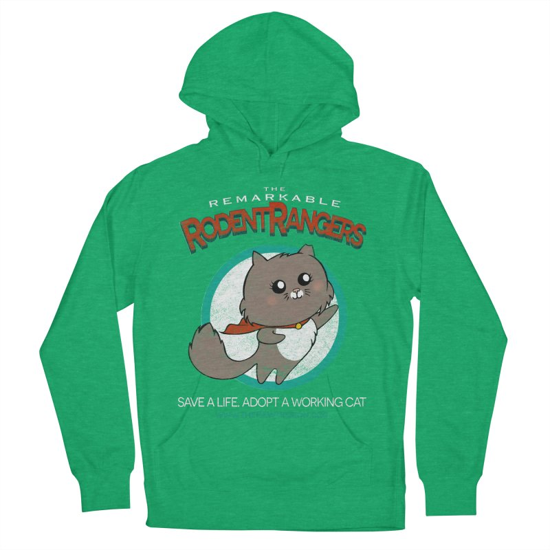 Rodent Rangers Women's French Terry Pullover Hoody by The PAW Mission
