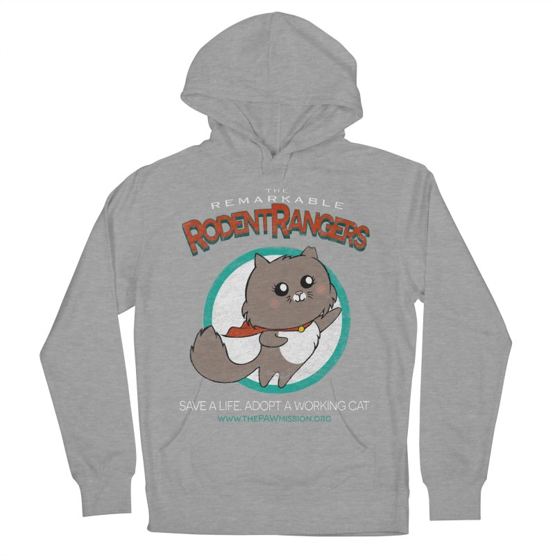 Rodent Rangers Men's French Terry Pullover Hoody by The PAW Mission