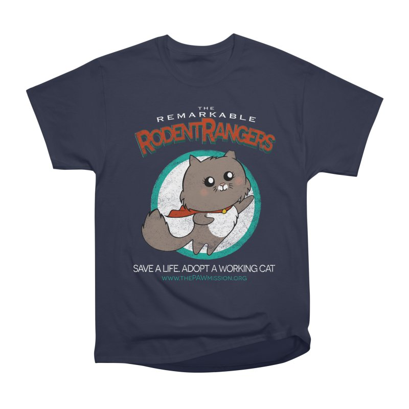 Rodent Rangers Men's Heavyweight T-Shirt by The PAW Mission