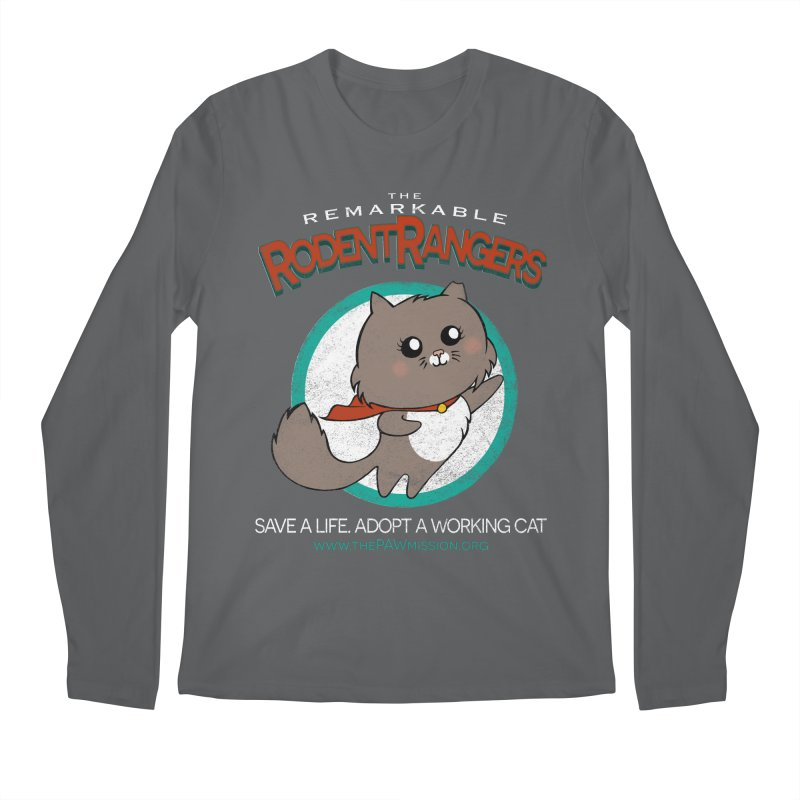 Rodent Rangers Men's Longsleeve T-Shirt by The PAW Mission