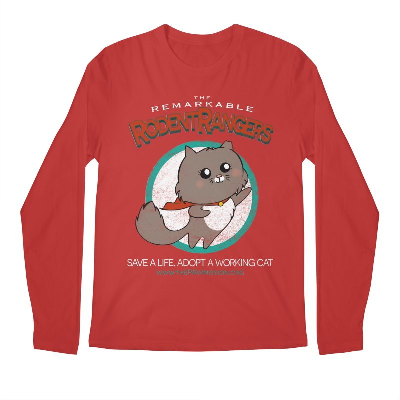 Rodent Rangers Men's Regular Longsleeve T-Shirt by The PAW Mission