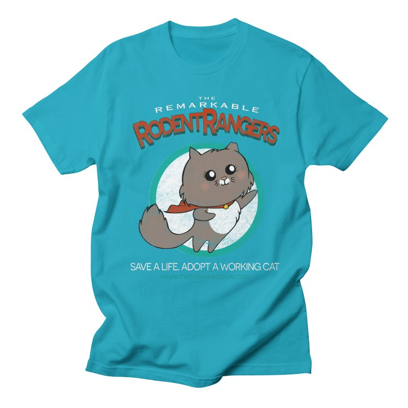 Rodent Rangers Men's Regular T-Shirt by The PAW Mission