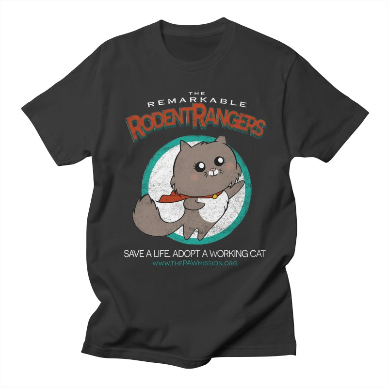 Rodent Rangers Women's Regular Unisex T-Shirt by The PAW Mission