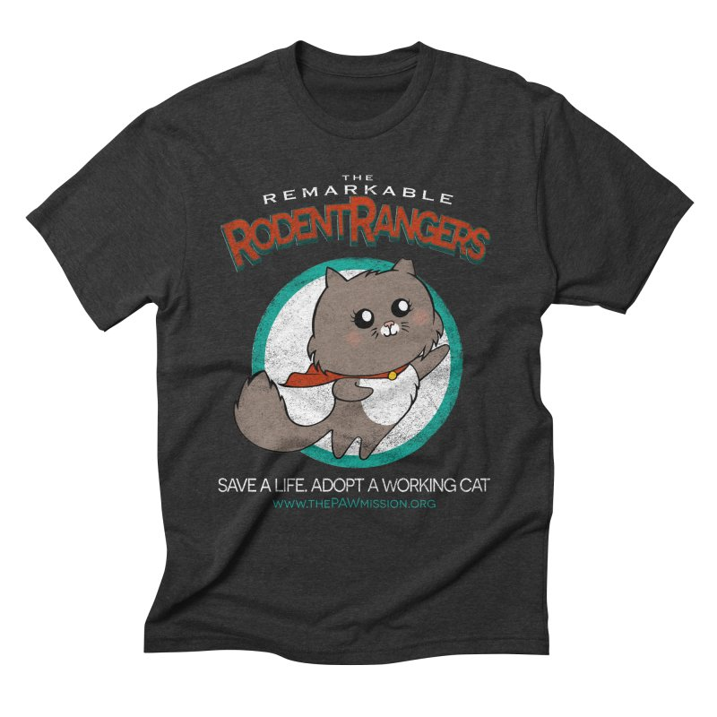 Rodent Rangers Men's Triblend T-Shirt by The PAW Mission