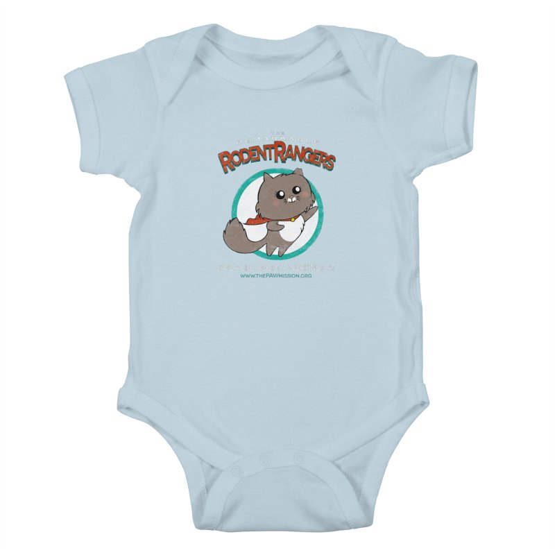 Rodent Rangers Kids Baby Bodysuit by The PAW Mission