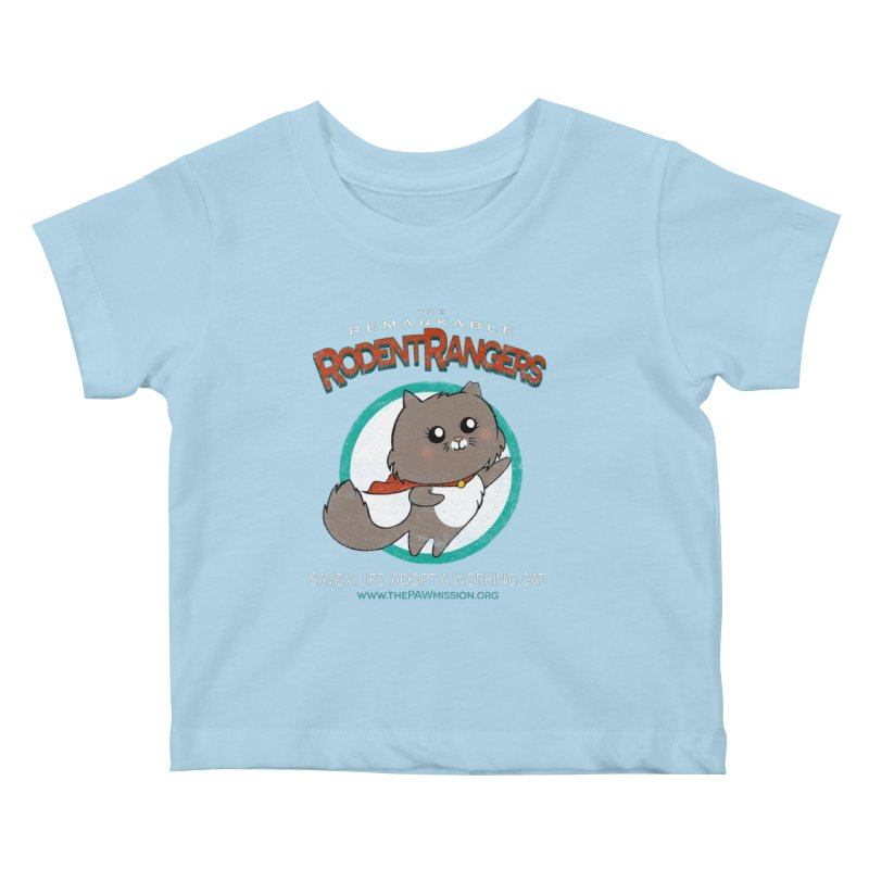 Rodent Rangers Kids Baby T-Shirt by The PAW Mission