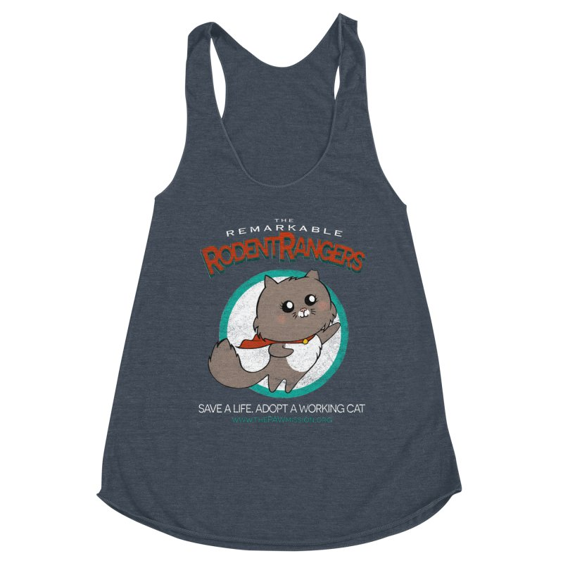 Rodent Rangers Women's Tank by The PAW Mission