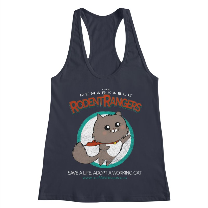 Rodent Rangers Women's Racerback Tank by The PAW Mission