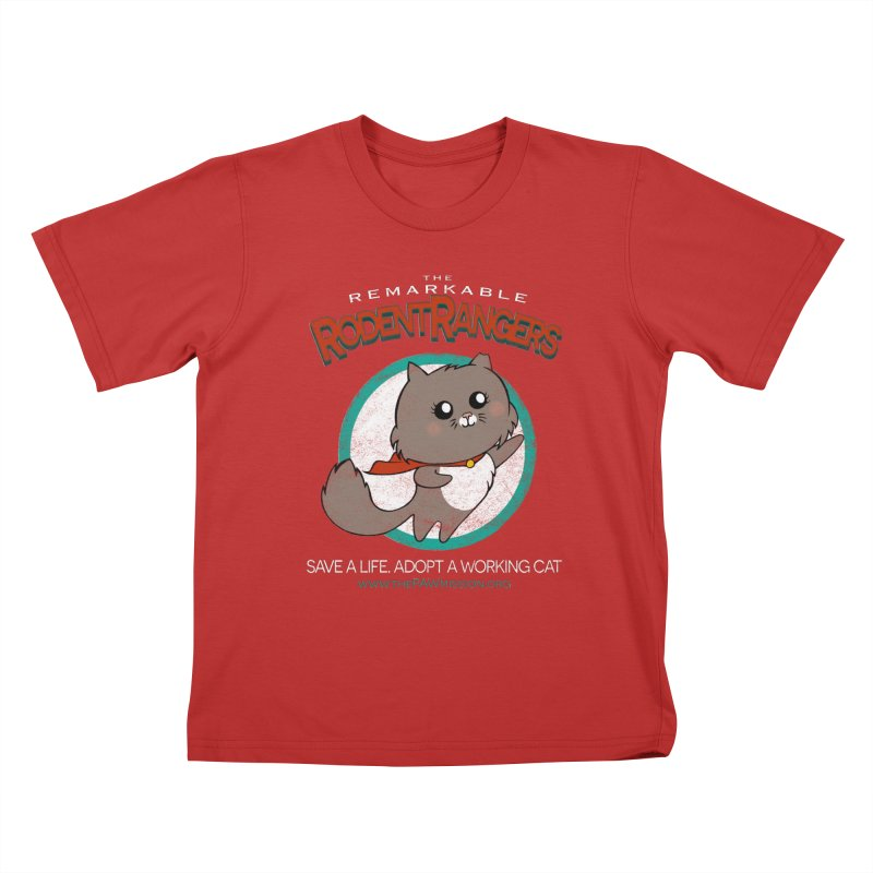 Rodent Rangers Kids T-Shirt by The PAW Mission