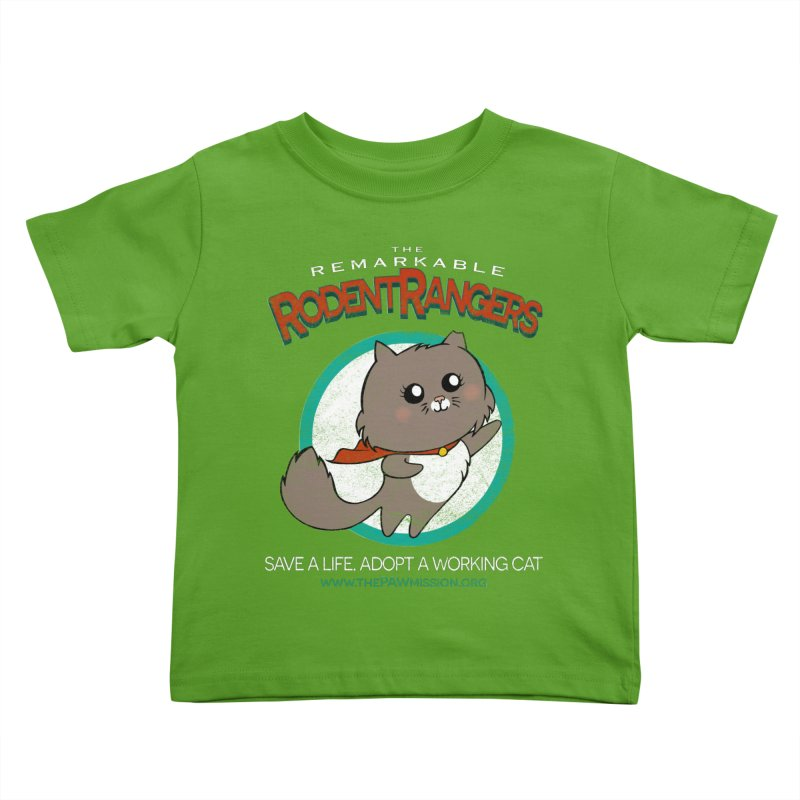 Rodent Rangers Kids Toddler T-Shirt by The PAW Mission
