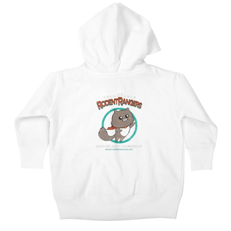 Rodent Rangers Kids Baby Zip-Up Hoody by The PAW Mission