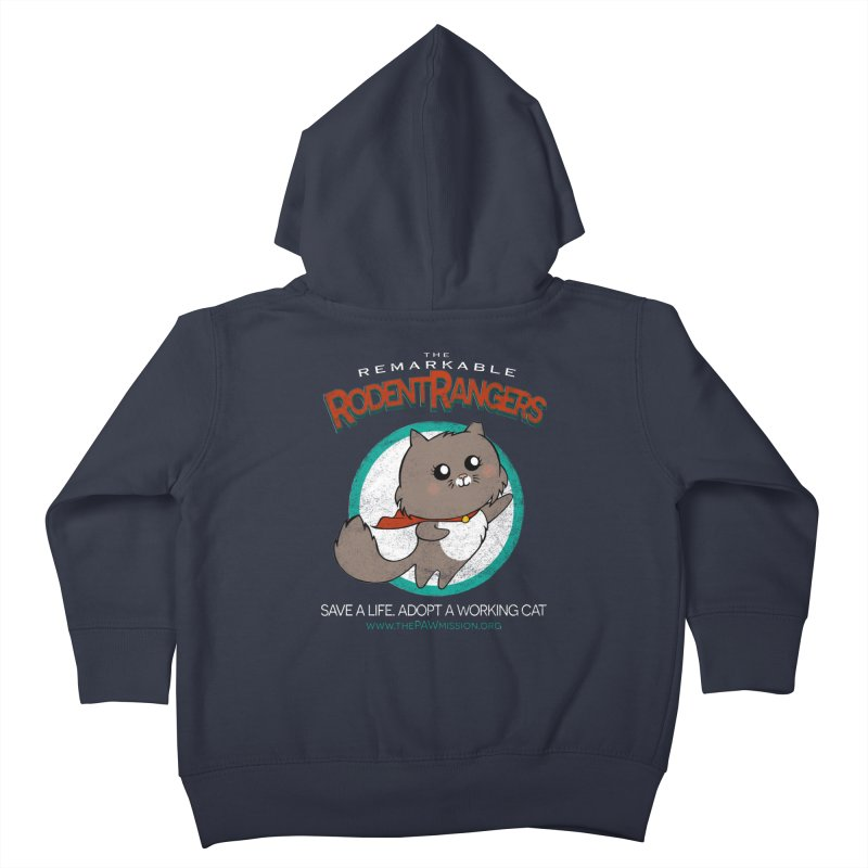 Rodent Rangers Kids Toddler Zip-Up Hoody by The PAW Mission