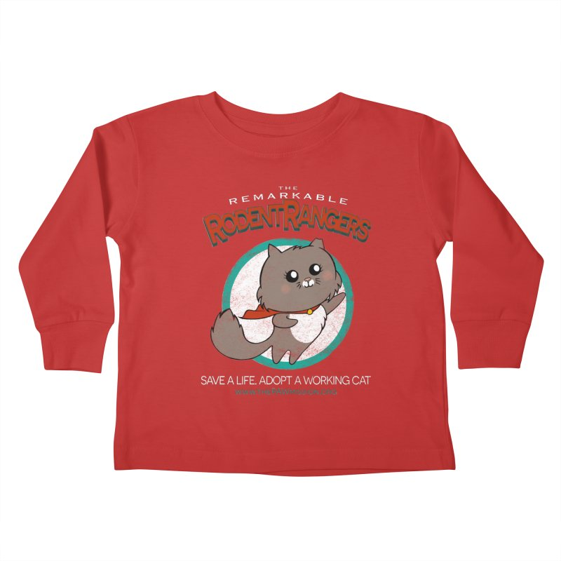 Rodent Rangers Kids Toddler Longsleeve T-Shirt by The PAW Mission