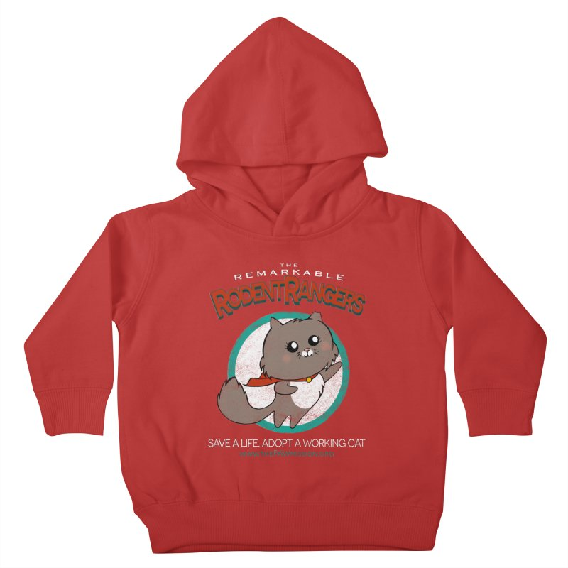 Rodent Rangers Kids Toddler Pullover Hoody by The PAW Mission