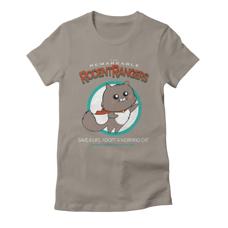 Rodent Rangers Women's T-Shirt by The PAW Mission