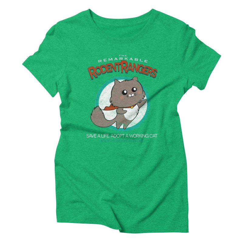 Rodent Rangers Women's Triblend T-Shirt by The PAW Mission