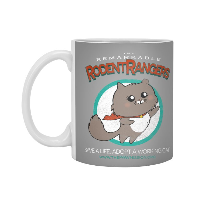 Rodent Rangers Accessories Standard Mug by The PAW Mission