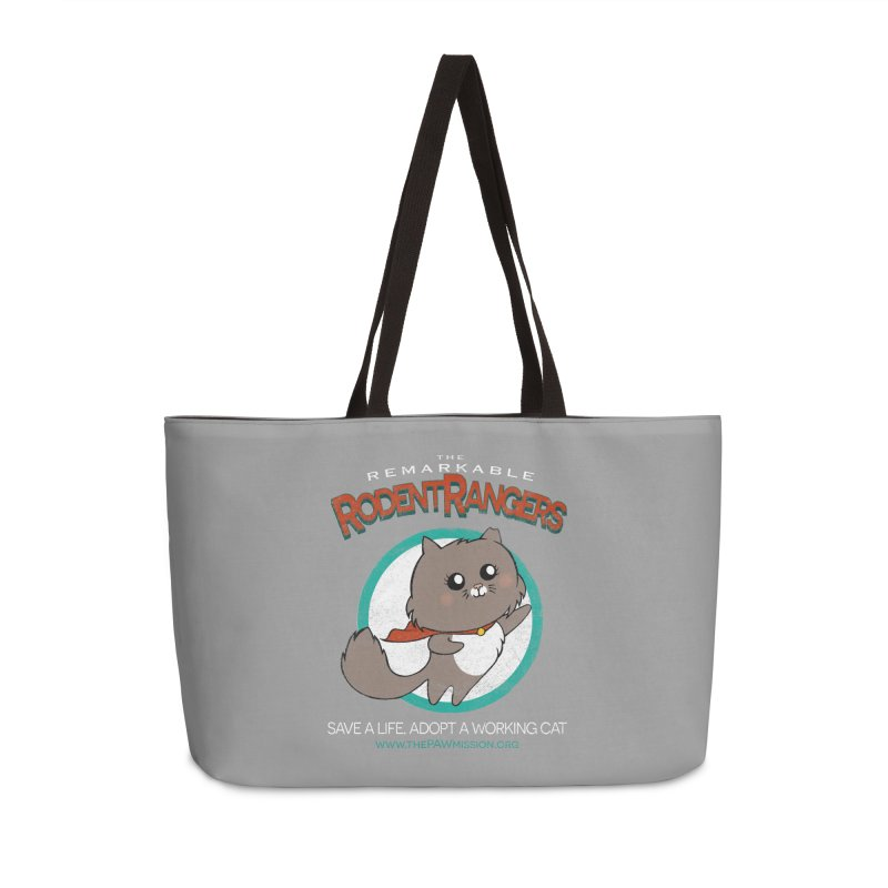 Rodent Rangers Accessories Weekender Bag Bag by The PAW Mission