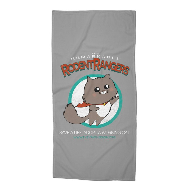 Rodent Rangers Accessories Beach Towel by The PAW Mission