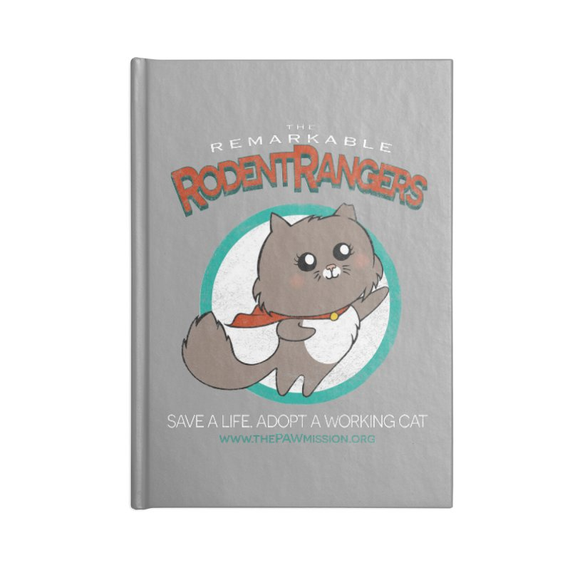 Rodent Rangers Accessories Lined Journal Notebook by The PAW Mission
