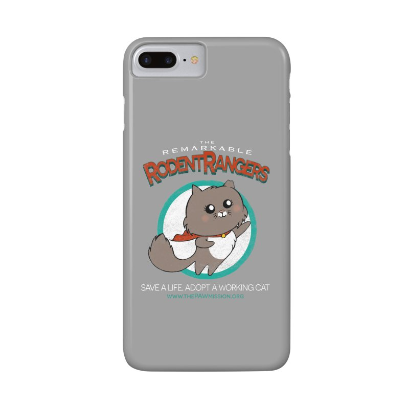 Rodent Rangers Accessories Phone Case by The PAW Mission