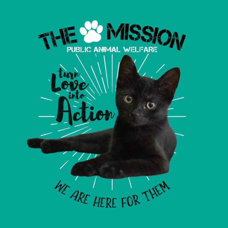 We are Here for Them Men's Longsleeve T-Shirt by The PAW Mission