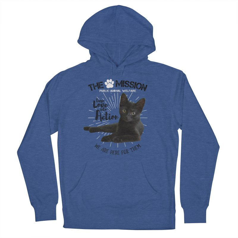 We are Here for Them Men's Pullover Hoody by The PAW Mission