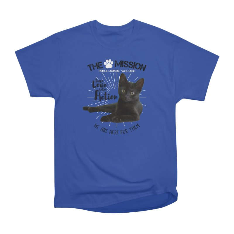 We are Here for Them Men's Heavyweight T-Shirt by The PAW Mission