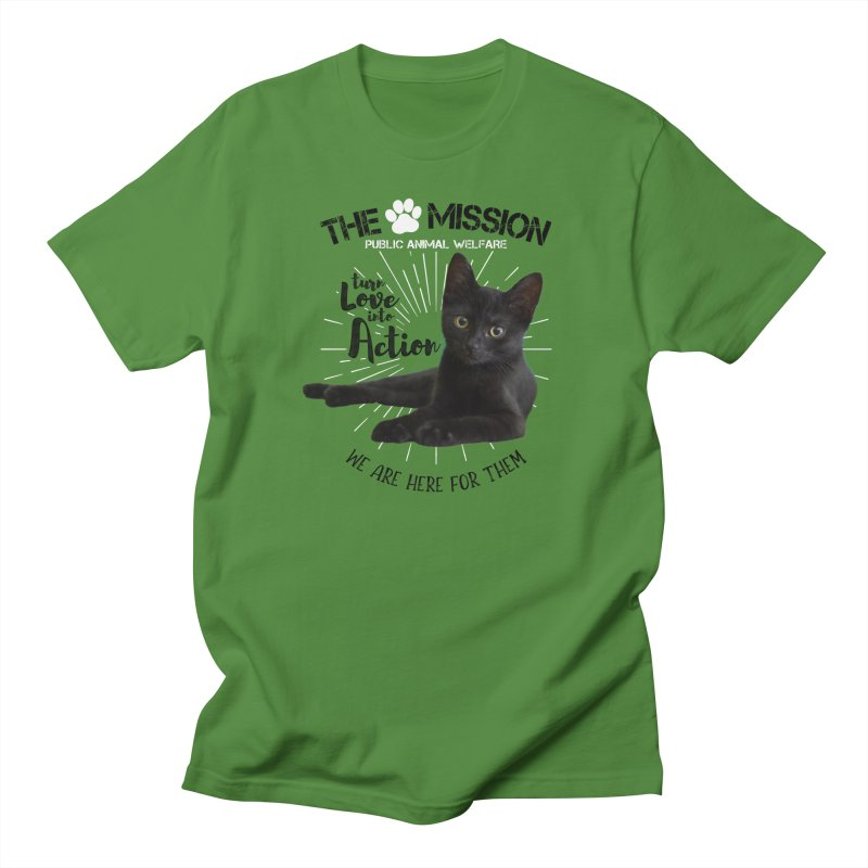 We are Here for Them Women's Regular Unisex T-Shirt by The PAW Mission