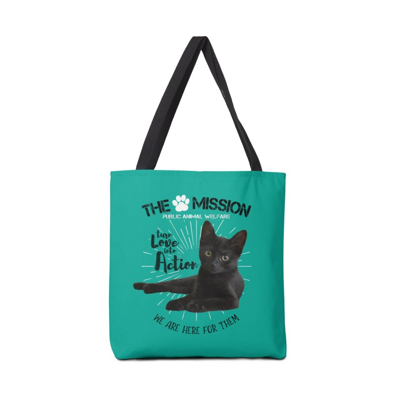 We are Here for Them Accessories Tote Bag Bag by The PAW Mission