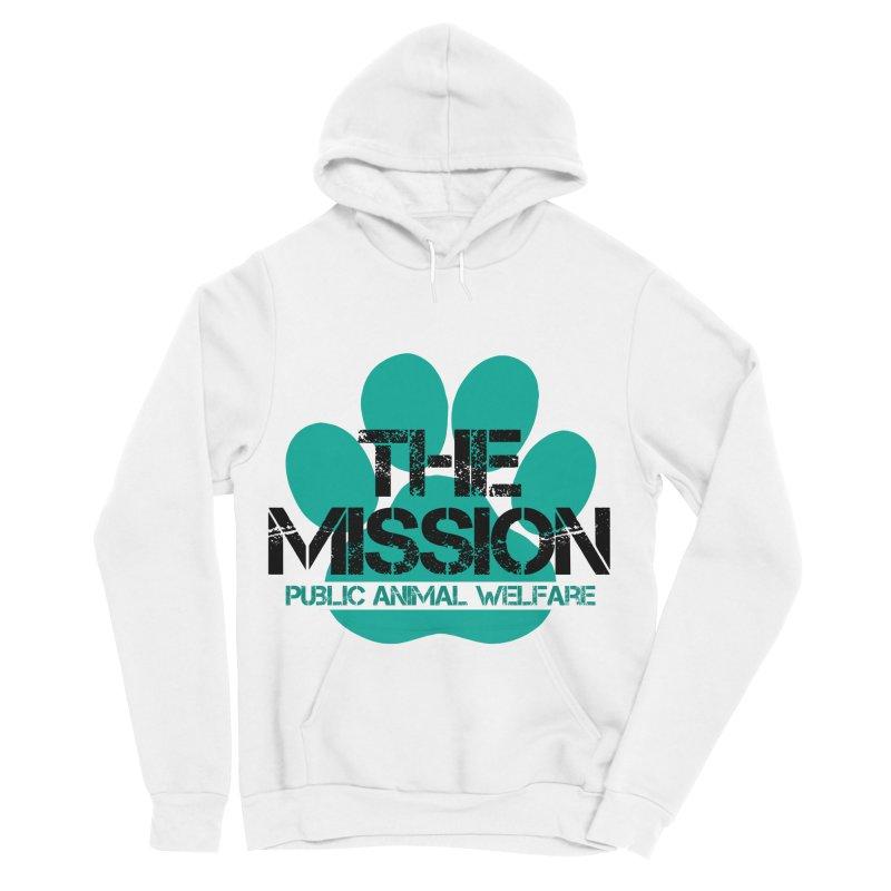 PAW Logo Men's Sponge Fleece Pullover Hoody by The PAW Mission