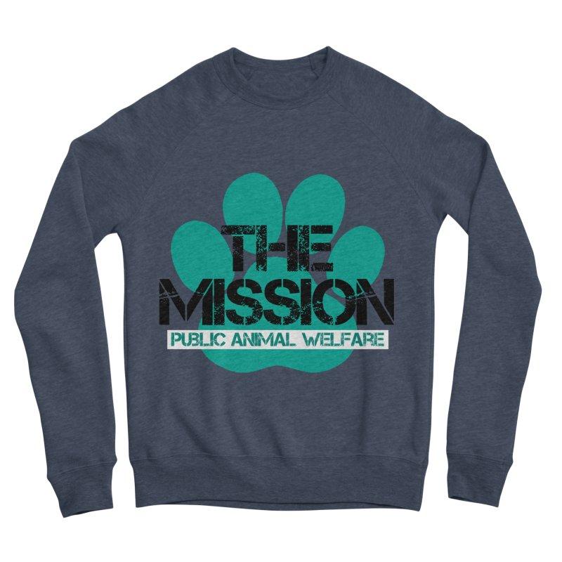 PAW Logo Women's Sponge Fleece Sweatshirt by The PAW Mission