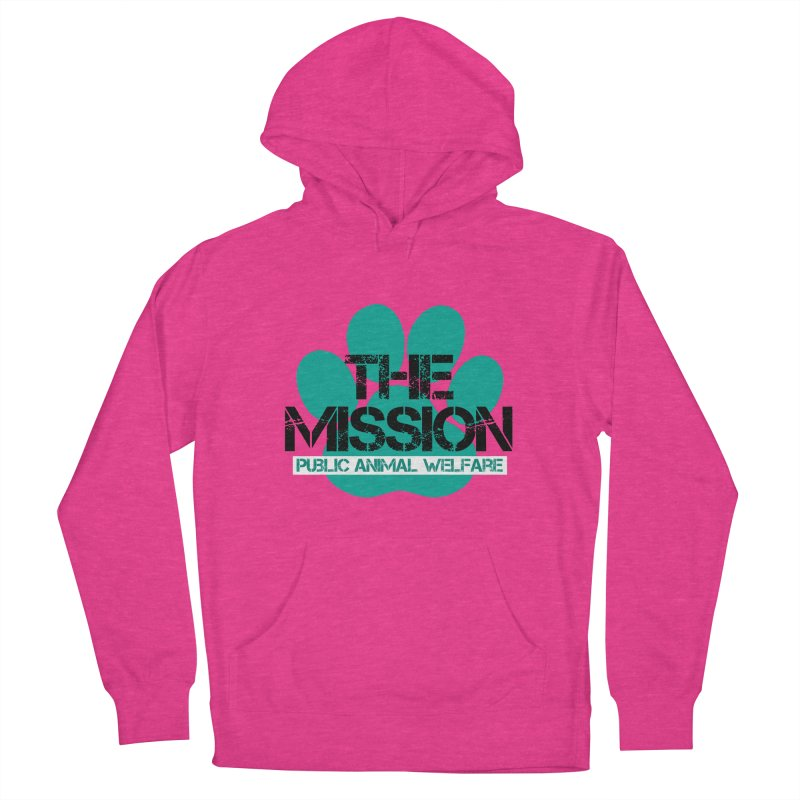 PAW Logo Women's French Terry Pullover Hoody by The PAW Mission