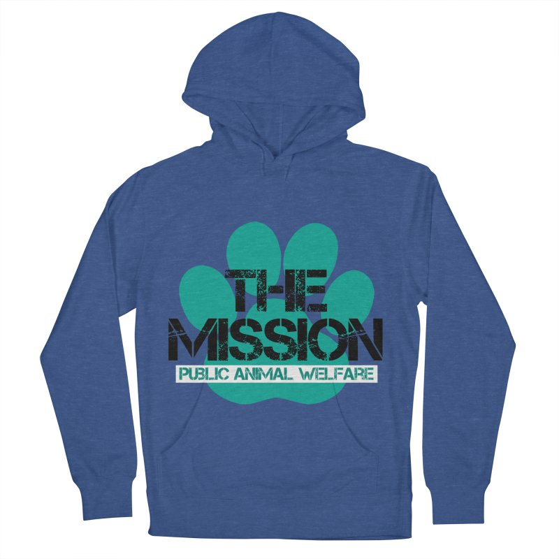 PAW Logo Men's French Terry Pullover Hoody by The PAW Mission