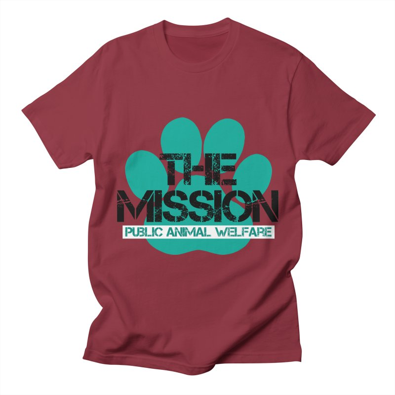 PAW Logo Men's T-Shirt by The PAW Mission