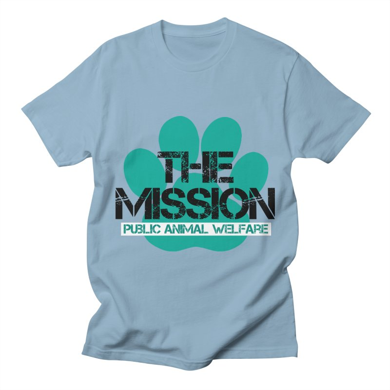 PAW Logo Women's Regular Unisex T-Shirt by The PAW Mission