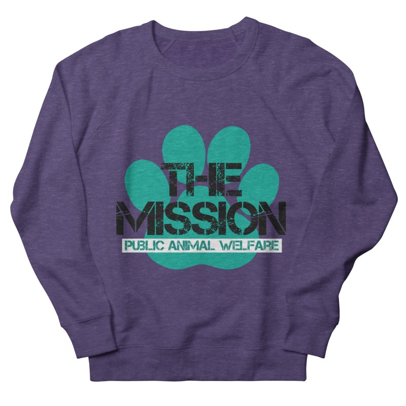 PAW Logo Women's French Terry Sweatshirt by The PAW Mission