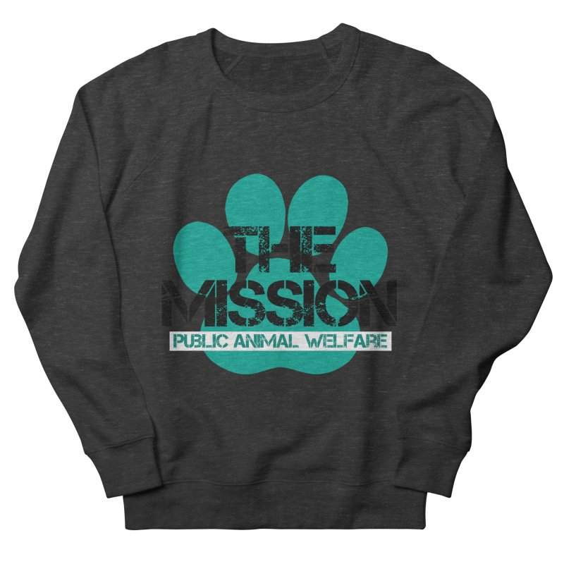 PAW Logo Men's French Terry Sweatshirt by The PAW Mission