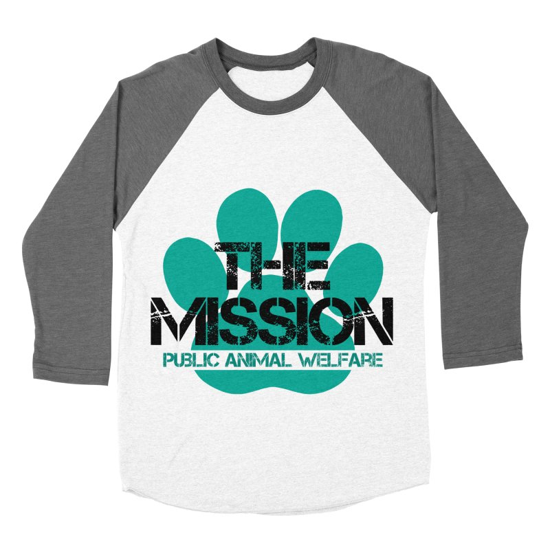 PAW Logo Women's Longsleeve T-Shirt by The PAW Mission