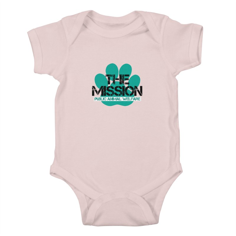PAW Logo Kids Baby Bodysuit by The PAW Mission