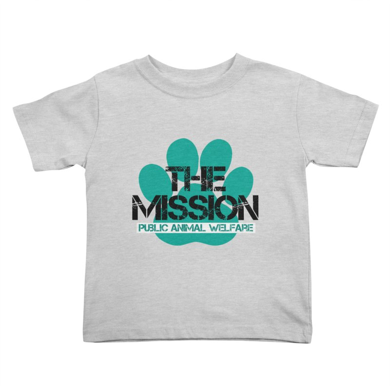 PAW Logo Kids Toddler T-Shirt by The PAW Mission