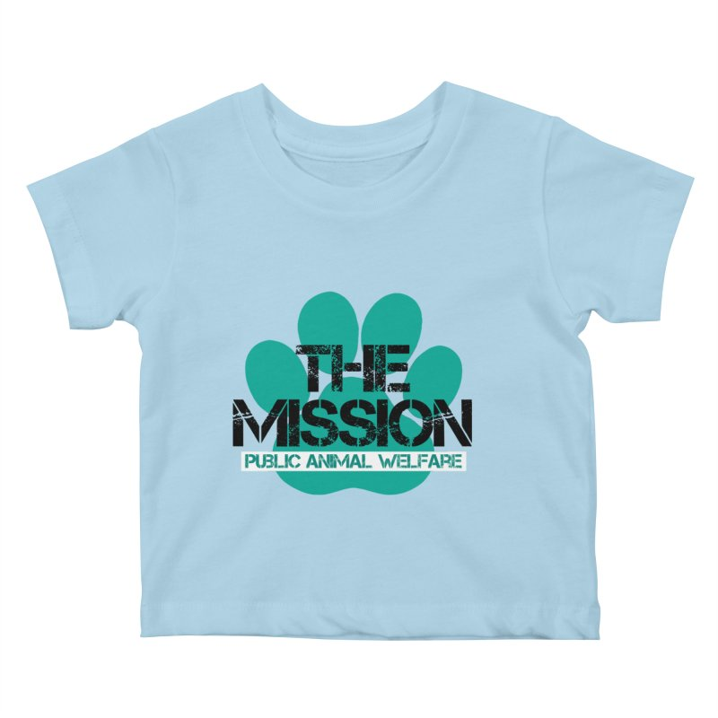 PAW Logo Kids Baby T-Shirt by The PAW Mission