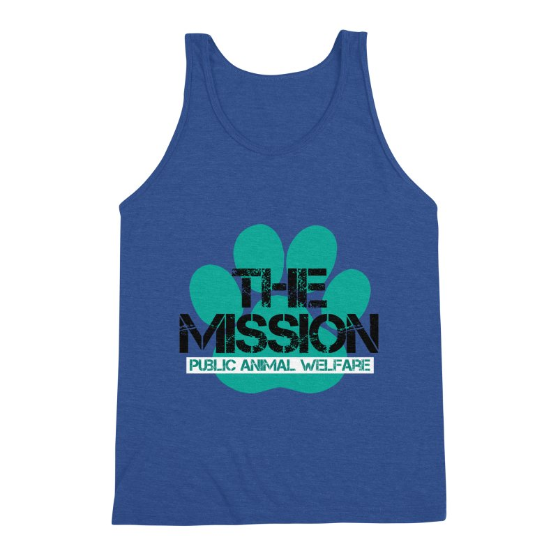 PAW Logo Men's Tank by The PAW Mission