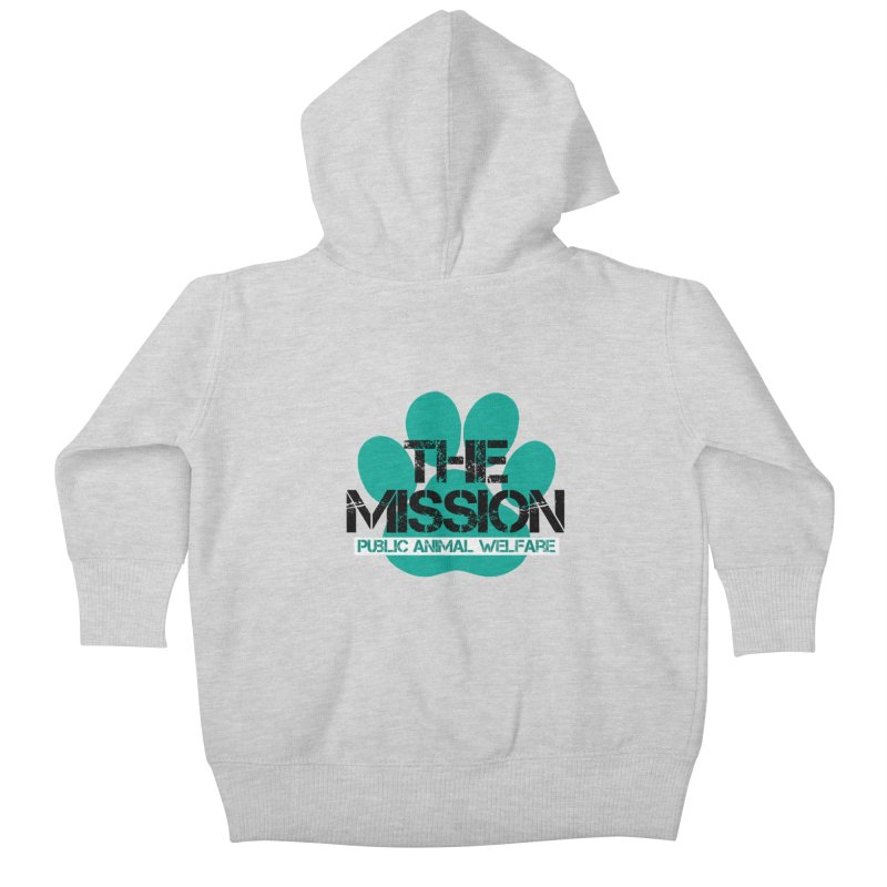 PAW Logo Kids Baby Zip-Up Hoody by The PAW Mission