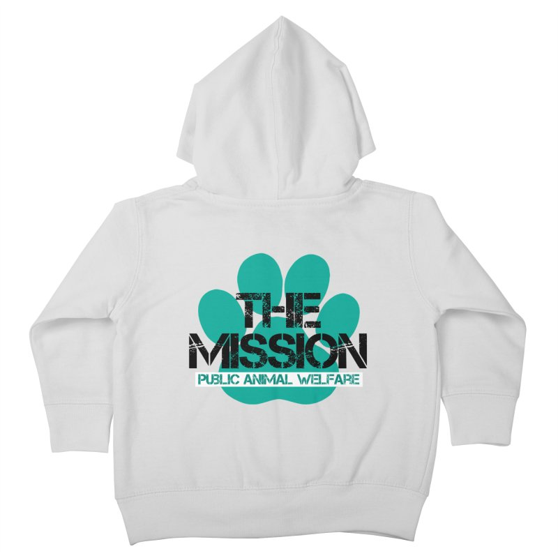 PAW Logo Kids Toddler Zip-Up Hoody by The PAW Mission