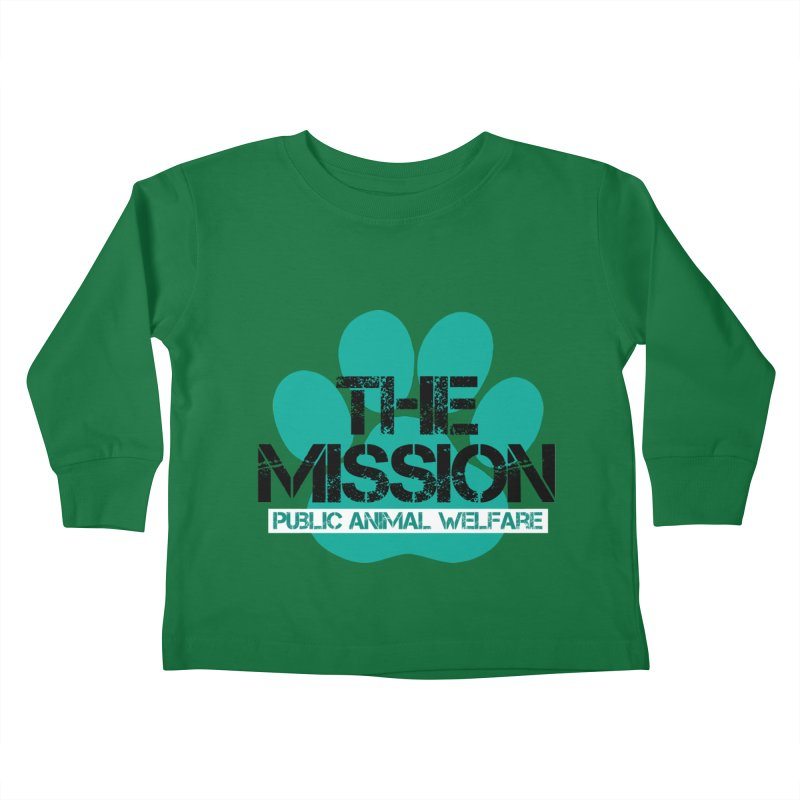 PAW Logo Kids Toddler Longsleeve T-Shirt by The PAW Mission